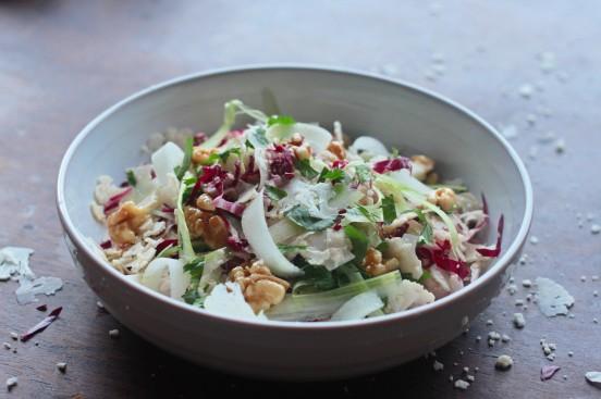 ... & Radicchio Salad with Honey-Glazed-Walnuts | Thyme to Indulge